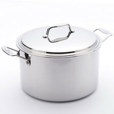 USA Pan 5-Ply Stainless-Steel Stockpot with Lid