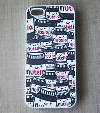 Made for iPhone 4 5 5C 6 6+ Case NUTELLA CHOCOLATE PATTERN CUTE MEME GIRLY FOOD
