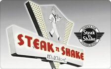 $50 Steak 'n Shake Gift Card for only $40 - Email delivery (20% Off)