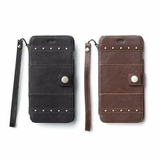 Zenus Bohemian M Diary Genuine Lamb Leather Cover Case for iPhone 6 Plus 5.5""
