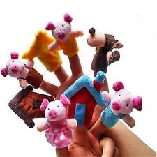 Funny Kids Finger Puppets Plush Baby Toys Story Gaming Children Educational Toys