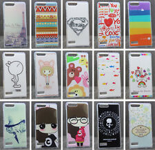 For Huawei Ascend P7 Mini  Soft TPU Superman Girl Animal Tower Love Case Cover