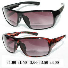 PREMIUM QUALITY BIFOCAL READING SUNGLASSES POWERS 1.50 2.00 2.75 SAFETY READERS