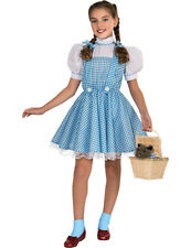Child Dorothy Wizard of Oz Kids Girls Book Movie Fancy Dress Costume
