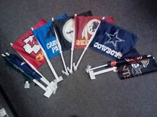 "NFL 11"" X 16"" DOUBLE SIDED QUALITY CAR FLAGS FLAG  --choose your team"