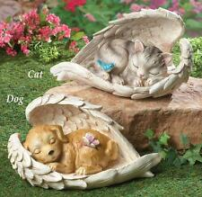 NEW Pet Memorial Garden Angel Wings Statue Cat or Dog