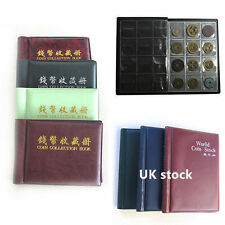 60/120 Holders Collecting Money Penny Pockets Collection Storage Coin Album Book