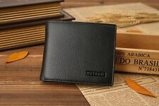 New Mens Black/Brown/Light Wallet Bifold Purse Genuine Leather with Card Holder