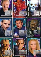 Doctor Who Monster Invasion TCG TV Cards 51 - 100 Select From List