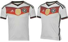 adidas Germany Team Home T Shirt 2014 2015 Junior Football FIFA Sizes 7-13 Years