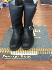 """Georgia Men's 11"""" Safety Toe Engineer Boots Style 798 Size 7 EEE NOS"""