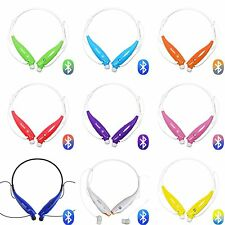 Wireless Bluetooth HandFree Sport Stereo Headset headphone for Samsung iPhone LG