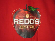 New REDD'S Apple Ale cider Beer T Shirt How d'ya Like This Apple?  Redds M L XL