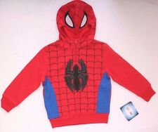 Marvel Ultimate Spider-Man Boys Hoodie Red/Blue Sizes 4-16 NWT