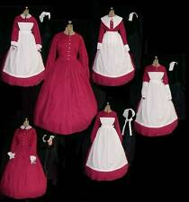 11 pc. WOMEN SM-LG ONE DRESS =5+ COSTUMES  VICTORIAN, CIVIL WAR  5 COSTUME's