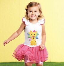 Mud Pie Safari Lion Top and Skirted Short Set