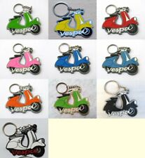Keychain Vespa motorcycle Soft Rubber Key Ring Gifts Souvenir Cute Free shipping