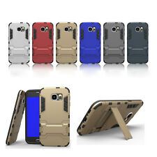 For Samsung Galaxy S6 Flip Slide Stand TPU PC Rugged Case Cover New