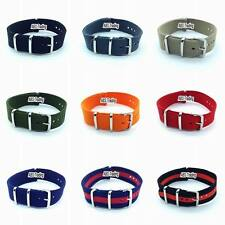 Nato Watch Strap Nylon Band Military Divers Army G10 Mens 18mm 20mm 22mm 24mm MM