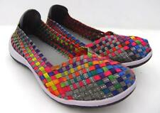 Cloud Comfort C C Resorts Woven Elastics Casual Walk Ladies SHOES Memory Insole