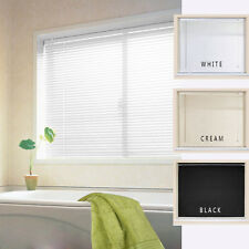 PVC VENETIAN BLINDS WINDOWS BLIND IN WHITE BLACK CREAM EASY FIT 160CM DROP