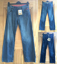Soul & Glory Boys Blue Denim Distressed Jeans Straight Leg Age 7 - 12 Years Bnwt