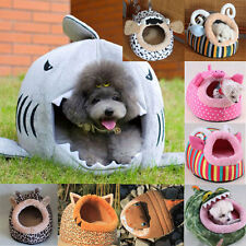 Mat Dog Puppy Cat Teddy Pet Bed House Beuty Winter Soft Warm Removable Cushion
