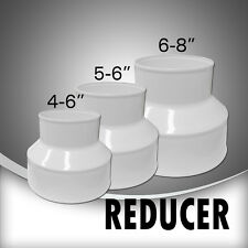 Reversible White Reducers for Duct Fans, Ducting, Ventilation fans & Silencers