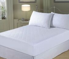 NEW QUILTED MATTRESS PROTECTOR ALL SIZES FITTED BED COVER - BEST PRICE & QUALITY