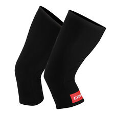Castelli Thermoflex Cycling Unisex Knee Warmers 4514041-123 - Black/Red