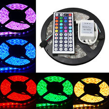 5050 RGB 5M 300 LEDs SMD LED Flexible Strip Light Tape Car Lamp Waterproof 12V