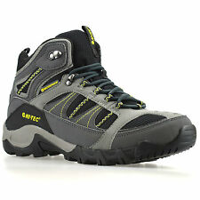 Mens Hi Tec Bryce II Walking Hiking Waterproof Trainers Ankle Boots Shoes Size