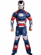 Iron Man Iron Patriot Classic Muscle Boy's Costume