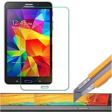Tempered Glass Screen Protector Shield Samsung Galaxy Tab 4 & 3 7 & 8 in +Stylus
