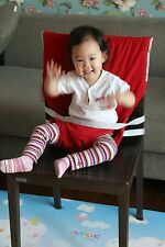 Portable Travel High Chair Seat Wrap Cover Dining Baby Fabric Seat