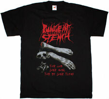 PUNGENT STENCH FOR GOD YOUR SOUL FOR ME YOUR FLESH DEATH METAL NEW BLACK T-SHIRT