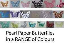 Butterflies (Monarch) Pearl Paper! (30 pieces !) Multi Listing!
