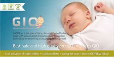GIO Pillow For Your Babies Head Brain Shape and Deep Sleeping Funtional Pillows