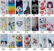 For Huawei Ascend G7 C199 Cartoon Animal Rose Flower Butterfly Hard Case Cover