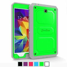 Dual Layer Hybrid Full Protective Cover Case For Samsung Galaxy Tab 4 8.0 2014