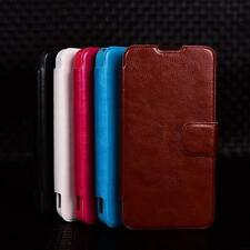 Magnetic Flip PU Leather Slot Wallet Cover Stand Case For various Lenovo Phone