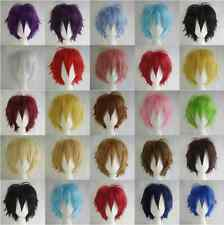 Anime Universal 30CM The Skip Short Hair Cosplay Costume Party Wig+Free Wig Cap