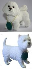 Collectible Dog Figurine, Bichon Frise, West Highland Westie Gift Boxed
