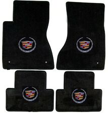 2003 - 2014 Cadillac CTS set of 4 floor mats choice of color/ logo on all 4 mats