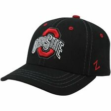 Zephyr Ohio State Buckeyes Element Fitted Hat - Black