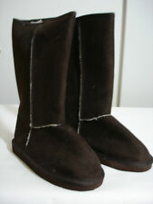 Casual Outfitters Ladies Boots Color:Brown Sizes: 5-10 Material: Faux Microsuede