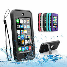 Waterproof Shockproof Dirt Snow Proof Durable Case Cover for iPod Touch 5 6th 6G
