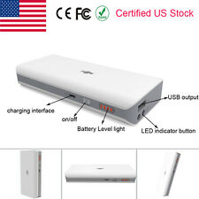 10000mAh Rechargable Portable External Battery Power Bank Charger for Cell Phone