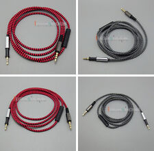 C0 Hi-OFC With Mic Remote Headphone Cable For AKG K450 K451 K452 K480 Q460 Heads