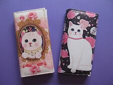 Kitty Cat Kitten Clutch Wallet / Purse Gift